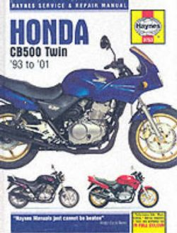 Honda CB500 Service and Repair Manual (1993-2001)
