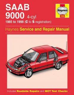 Saab 9000 4-cyl 1985-1998 Repair Manual