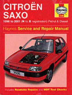 Citroen Saxo Service and Repair Manual: 1996 to 2000