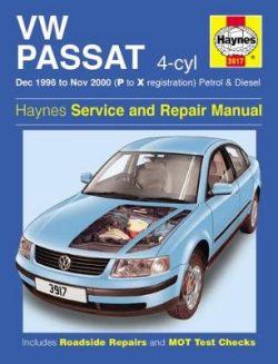 VW Passat 4-cyl 1996-2000 Repair Manual