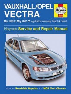 Vauxhall/Opel Vectra Petrol & Diesel (Mar 99 – May 02) T To 02