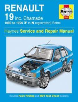 Renault 19 Petrol (89 – 96) F To N