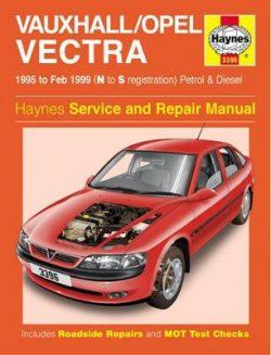Vauxhall/Opel Vectra 1995-1999 Repair Manual