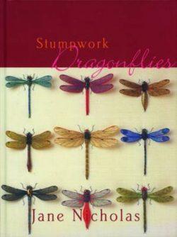 Stumpwork Dragonflies