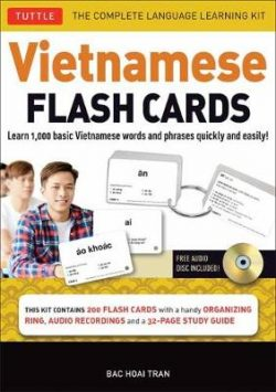 Vietnamese Flash Cards Kit: The Complete Language Learning Kit