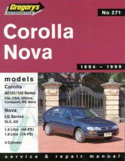 Toyota Corolla/Holden Nova Lg (1994-98)