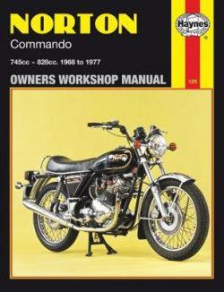 Norton Commando 745cc and 828cc models 1968-1977 Repair Manual