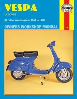 Vespa Rotary Valve Scooters 1959-1978 Repair Manual