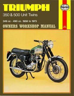 Triumph 350 and 500 Unit Twins 1957-1973 Repair Manual