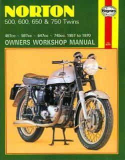 Norton 500, 600, 650 & 750 Twins 1957-1970 Repair Manual