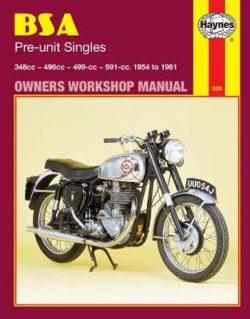 BSA Pre-Unit Singles (54 – 61)