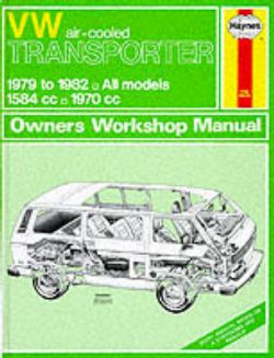 Volkswagen Air-cooled Transporter 1979-82 Owner's Workshop Manual