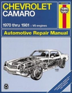 Chevrolet Camaro (70 – 81)