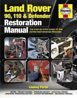 Land Rover 90, 110 And Defender Restoration Manual: Step-by-step guidance for owners and restorers