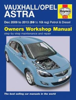 Vauxhall/Opel Astra (Dec 09 – 13) 59 To 13