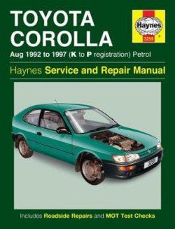 Toyota Corolla: 92-97