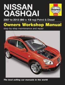 Nissan Qashqai Petrol & Diesel (07 – 13) 56 To 13