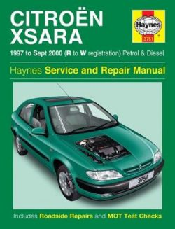 Citroen Xsara Service And Repair Manual