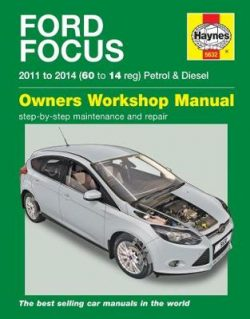 Ford Focus Petrol & Diesel (11 – 14) 60 To 14