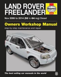 Land Rover Freelander (Nov 06 – 14) 56 To 64