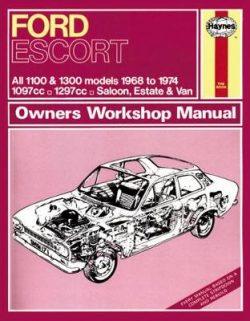 Ford Escort Mk 1 Owner's Workshop Manual