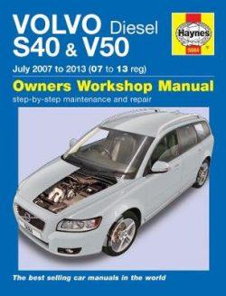 Volvo S40 & V50 Diesel (July 07 – 13) 07 To 13