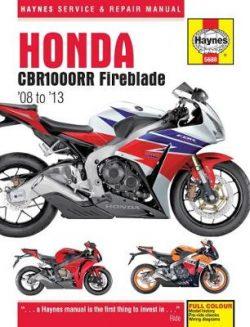 Honda CBR1000Rr Fireblade (08 To 13)