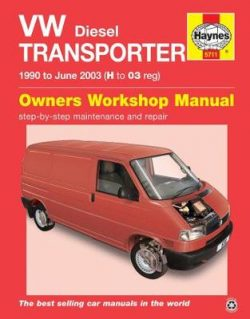 VW Transporter Diesel (90 – June 03) H To 03