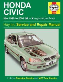 Honda Civic Service And Repair Manual: 95-00