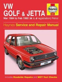 VW Golf & Jetta Mk 2 Petrol (84 – 92)
