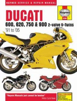 Ducati 600, 750 & 900 2-Valve V-Twins Service And