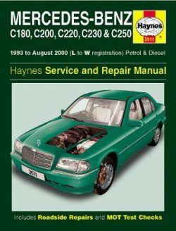 Mercedes Benz C-Class Petrol And Diesel Service An