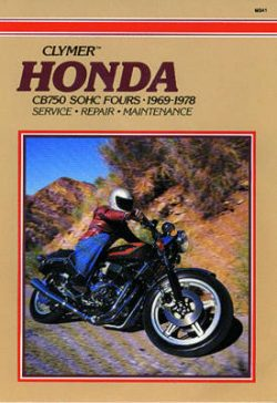 Honda CB750 Sohc Fours 69-78