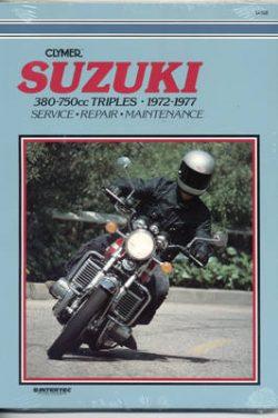 Suzuki 380-750Cc Triples 72-77