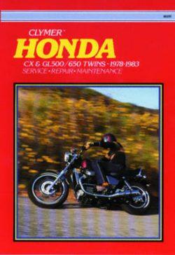 Honda Cx & Gl500/650 Twins 78-83