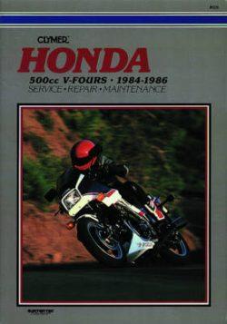 Honda 500cc V-Fours 84-86