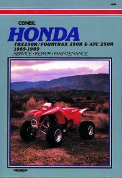 Honda TRX 4TRX & ATC 250R 85-89