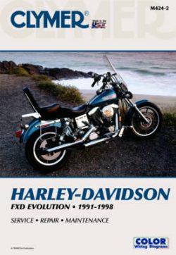 Clymer Harley Davidson FXD Evolution
