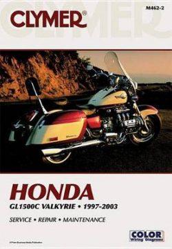Clymer Honda Gl1500C Valkyrie 199