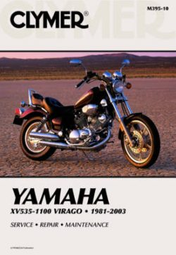 Clymer Xv535-1100 Virago 1981-200