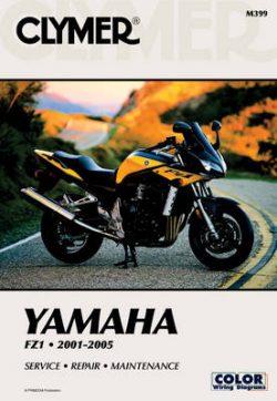 Clymer Yamaha Fz-1 2001-2004