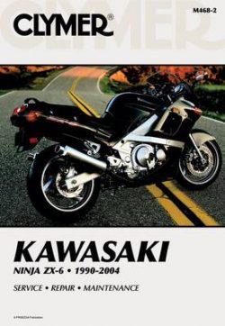 Clymer Kawasaki Ninja ZX-6 1990-2