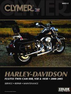 Clymer Harley-Davidson FLS/FXS 88