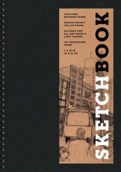 Sketchbook (Basic Medium Spiral Black)