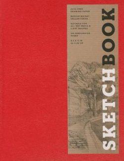 Sketchbook (Basic Large Bound Red)