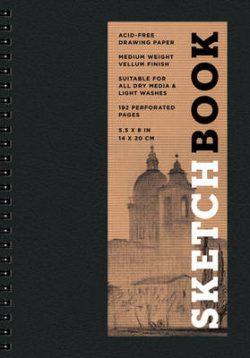 Sketchbook (Basic Small Spiral Black)
