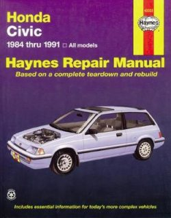 Honda Civic (84 – 91)