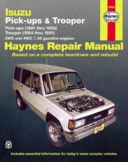 Isuzu Trooper & Pick-Up (81 – 93)