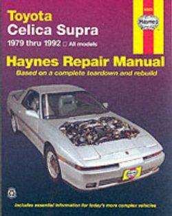 Toyota Celica Supra (79 – 92)