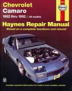 Chevrolet Camaro (82 – 92)